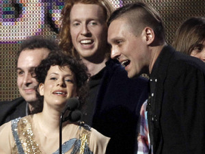 Arcade Fire's supercool duo of Régine Chassagne and Win Butler