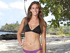&#39;Survivor: One World&#39; castaways: Kimberly Spradlin, a bridal shop owner currently living in San Antonio, Texas