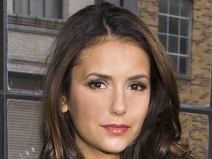 Nina Dobrev, DKNY, New York Fashion Week