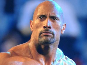 The Rock in WWE