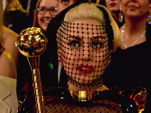 Lady Gaga The 54th Annual Grammy Awards on CBS LL Cool J hosts music's biggest night which celebrates and honors excellence in the recording industry USA - 12.02.12WENN does not claim any ownership including but not limited to Copyright or License in the attached material. Any downloading fees charged by WENN are for WENN's services only, and do not, nor are they intended to, convey to the user any ownership of Copyright or License in the material. By publishing this material you expressly agree to indemnify and to hold WENN and its directors, shareholders and employees harmless from any loss, claims, damages, demands, expenses (including legal fees), or any causes of action or  allegation against WENN arising out of or connected in any way with publication of the material.