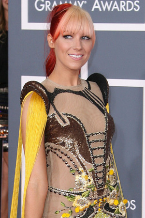 Bonnie McKee 54th Annual GRAMMY Awards - 2012 Arrivals held at the Staples Center Los Angeles