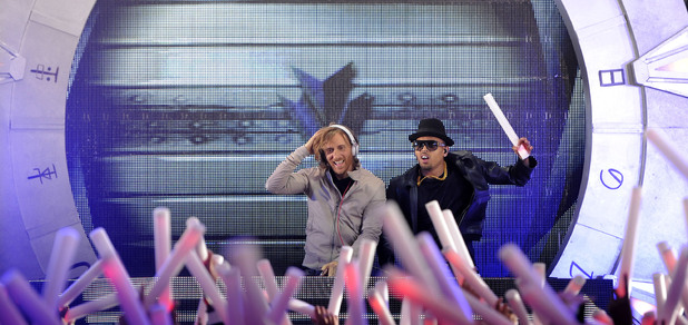 David Guetta and Chris Brown