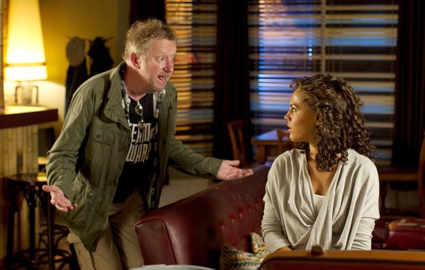 Being Human S04E03, Regus (Mark Williams), Annie (Lenora Crichlow)