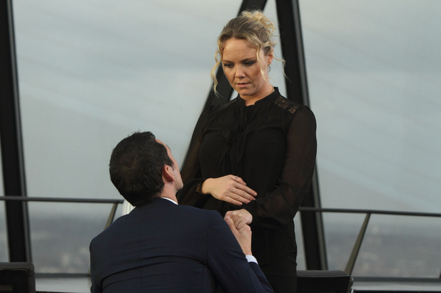Michael proposes to Janine.