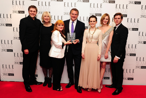 Cast members of Downton Abbey