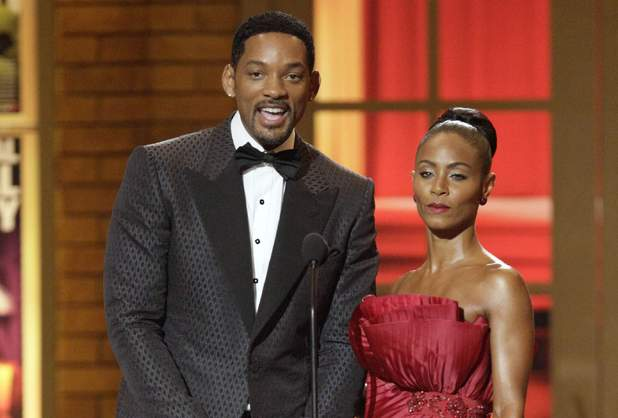 Wicked Wisdom metaller Jada Pinkett-Smith and the one and only Will Smith