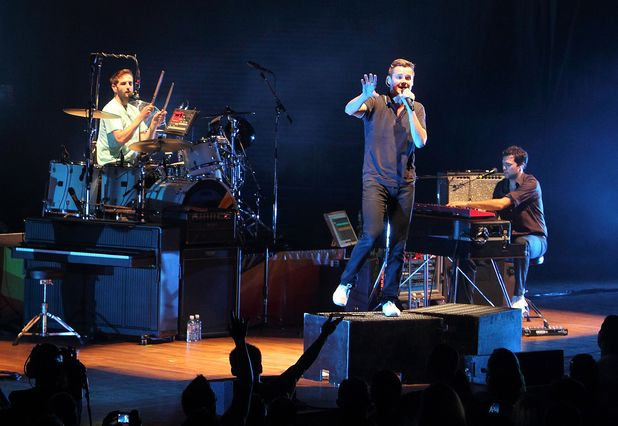 Keane In Concert at Merriweather Post in Columbia