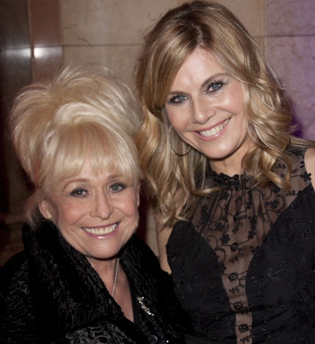 Barbara Windsor and Glynis Barber