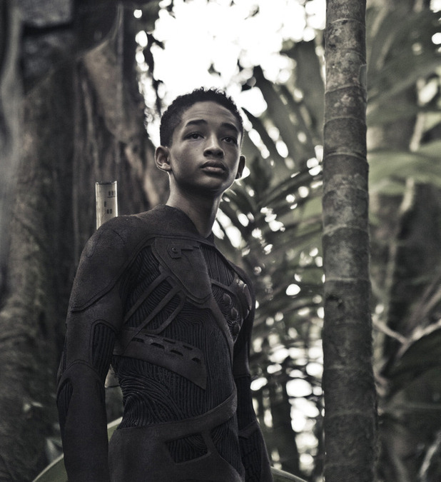 Jaden smith posts first look image from after earth