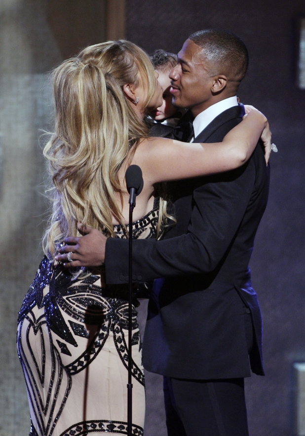 Superstar Mariah Carey and record producer Nick Cannon