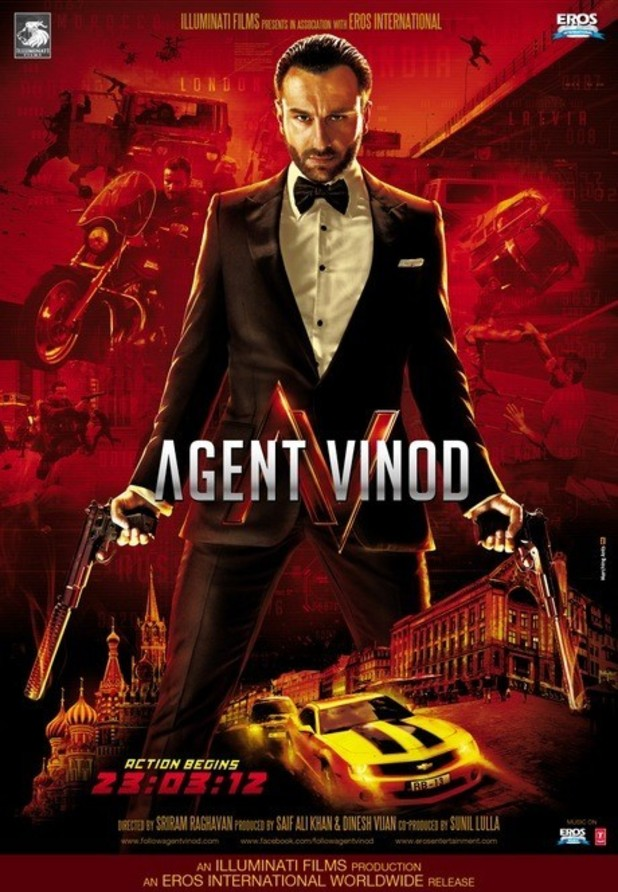 &#39;Agent Vinod&#39; poster
