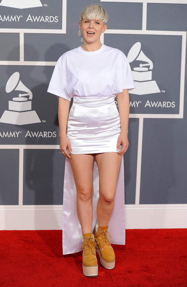 Robyn, The Grammys 2012
