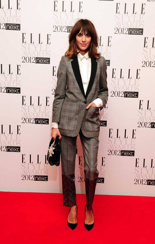 Alexa Chung - The 2012 Elle Style Awards in PIctures - Digital Spyelle style awards