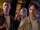 Being Human S04E03, Annie (Lenora Crichlow), Hal (Damien Molony), Tom (Michael Socha)