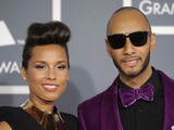 New York's Alicia Keys and producer/rapper Swizz Beatz