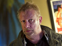 Comedian and actor Mark Williams is spotted on the Doctor Who set.
