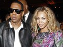 Jay-Z and Beyoncé welcome Obama supporters to their 40/40 club.