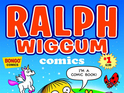 Bongo Comics announces a Simpsons spinoff comic starring Ralph Wiggum.