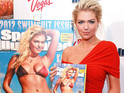 Kate Upton recalls facing rejection early in her modeling career.