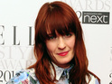 Florence Welch says she has a lot of stuff to get out of her head.