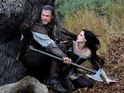 View photos from Kristen Stewart's fantasy action film Snow White and the Huntsman.