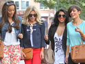 The girl group keep busy on their latest business trip to Los Angeles.