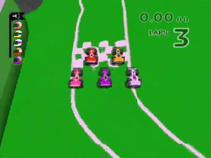 'Micro Machines V3' screenshot