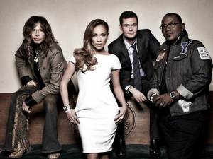 American Idol Season 11 - Steven Tyler, Jennifer Lopez, Ryan Seacrest and Randy Jackson