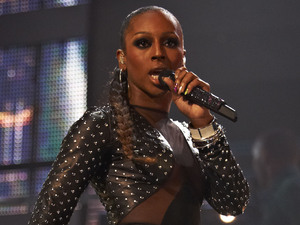Alexandra Burke performs her single 'Elephant'.