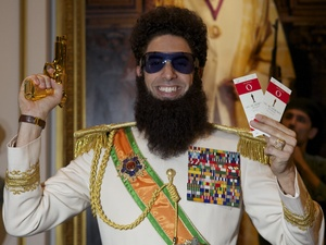 Sacha Baron Cohen's The Dictator with Oscar tickets