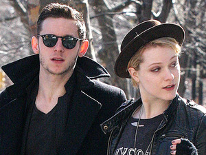 Evan Rachel Wood and Jamie Bell out and about, New York