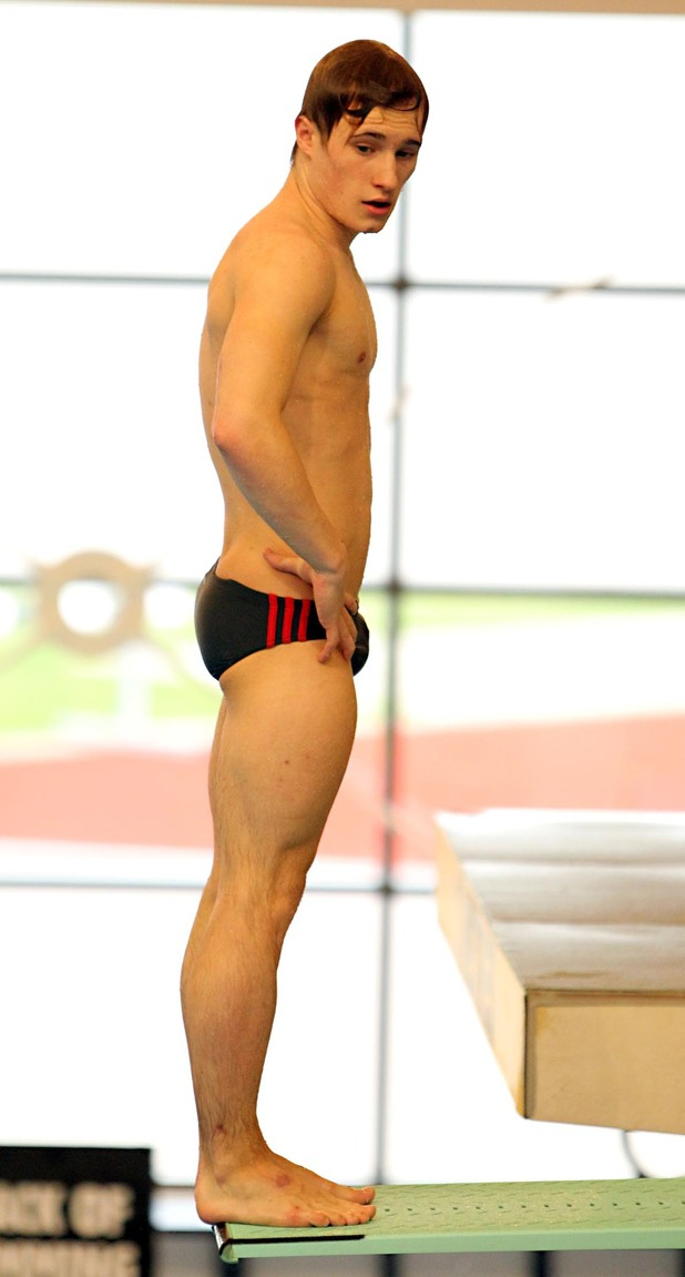 Jack Laugher during the British Gas National Cup 2012 at Southend Swimming and Diving Centre