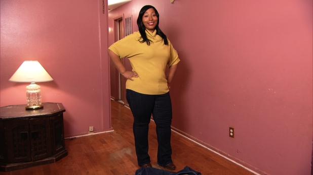 """After""photo of Daphne Dortch, latest eliminated contestant on NBC's ""The Biggest Loser"""