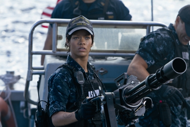 Rihanna in 'Battleship'