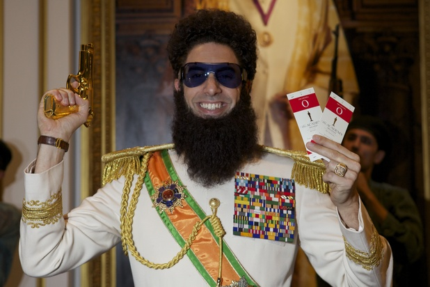 Sacha Baron Cohen&#39;s The Dictator with Oscar tickets