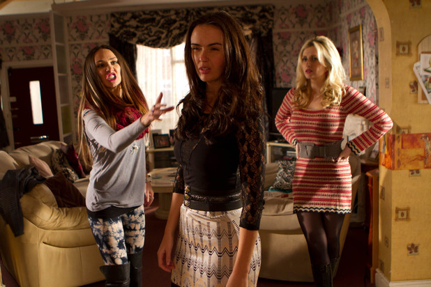 Hollyoaks 3287: Jacqui, Mercedes and Carmel