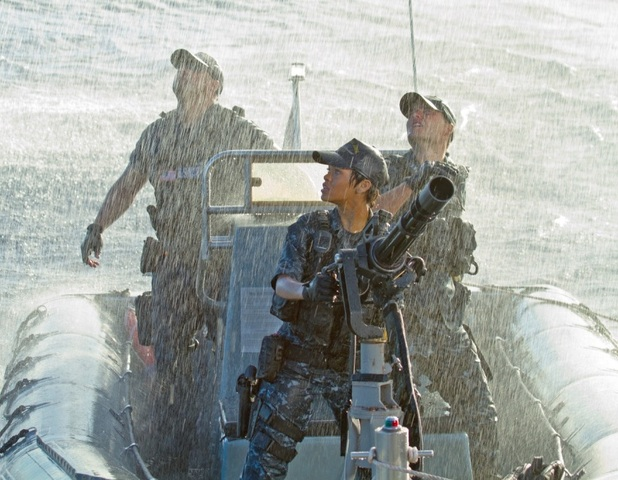 Rihanna in 'Battleship' - Stills
