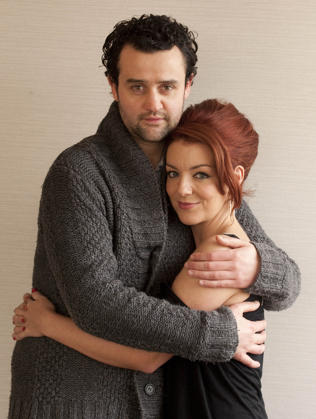'Mrs Biggs' still: Sheridan Smith as Chairman Biggs and Daniel Mays as Ronnie Biggs