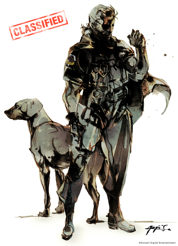 Metal Gear Solid 5 art