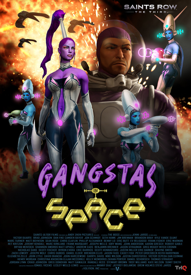 Saints Row The Third Gangstas In Space