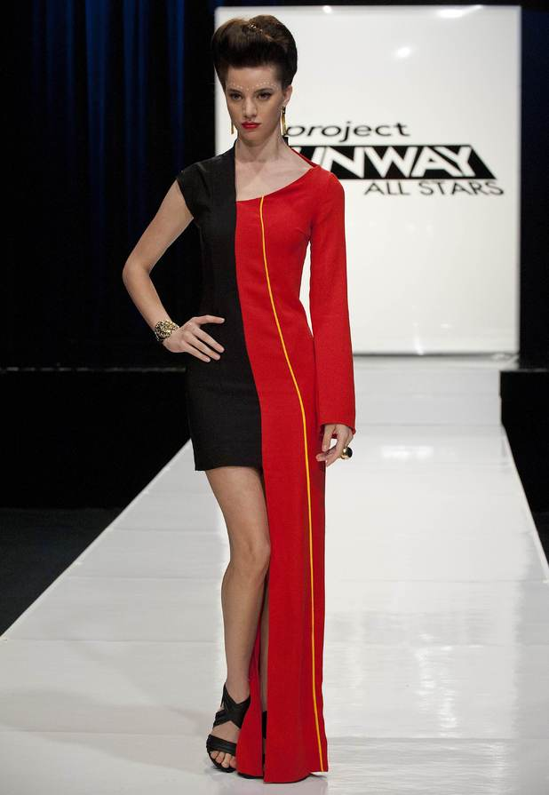 Mila Hermanovski's design, Project Runway