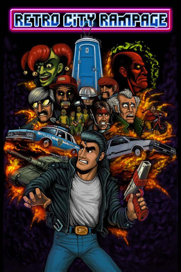 'Retro City Rampage' poster
