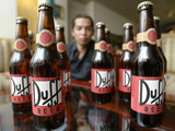 Bottles of Duff Beer