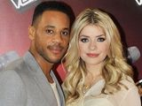 The Voice presenters Reggie Yates and Holly Willoughby