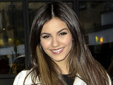 Victoria Justice leaving her hotel, London
