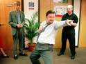 Gervais is keen to bring The Office's David Brent to the big screen.