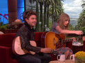 Taylor Swift and Zac Efron deny they are dating by performing a TV duet.