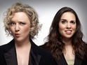 Digital Spy speaks to comedy duo Lorna Watson and Ingrid Oliver.