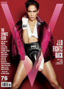 Jennifer Lopez appears in V Magazein